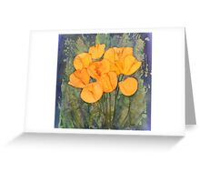 Yellow Tulips in Spring Greeting Card