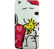 Snoopy before valentine iPhone Case/Skin