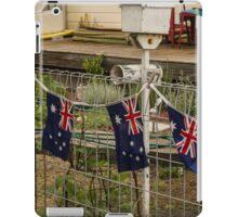 patriotic post iPad Case/Skin