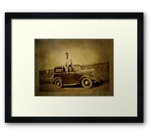 A Touch of Nostalgia (My Dad 1916-2001) Framed Print