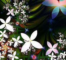 Moonlit petals by shalisa