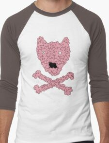 bubblebones Men's Baseball ¾ T-Shirt