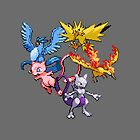First Gen Legendaries  by Flaaffy