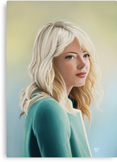 Gwen Stacy by eclecticmuse