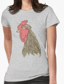 cock Womens Fitted T-Shirt