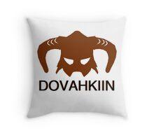 Skyrim: Dovahkiin - Design for Gamers Throw Pillow