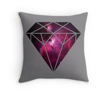 Galaxy Diamond Throw Pillow