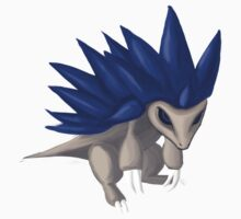 Sandslash the hedgehog / Sablaireau le hérisson Kids Clothes