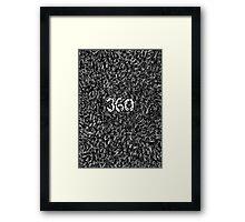 360 - PEOPLE Framed Print