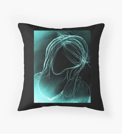 The Virgin Mary Throw Pillow