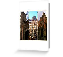 Grand old facade 2 Greeting Card
