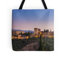 The Alhambra at Twilight Tote Bag