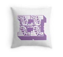 Alphabet Pillow - H Throw Pillow