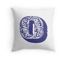 Alphabet Pillow - O Throw Pillow