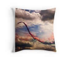 Red Arrows 5 Throw Pillow