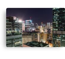 Brisbane from the Meriton Apartments Canvas Print
