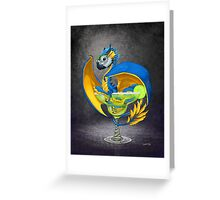 Margarita Dragon Greeting Card