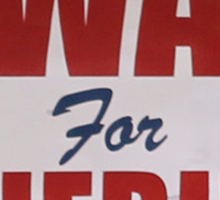 Swan For Sheriff - V2 Sticker