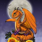 Pumpkin Dragon by SMorrisonArt