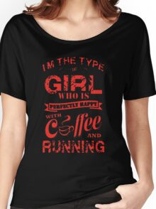 Coffee and Running Women's Relaxed Fit T-Shirt