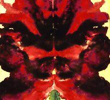 ~ Erotic Rorschach Orchids by Quinten Rhea