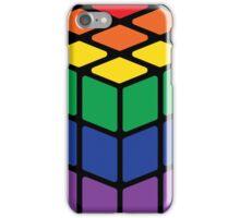 Rainbow Rubix Cube - Style 1 iPhone Case/Skin