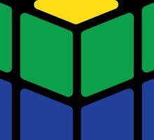 Rainbow Rubix Cube - Style 1 Sticker
