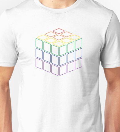 Rainbow Rubix Cube - Style 2 Unisex T-Shirt