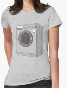 washmachine Womens Fitted T-Shirt