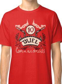 Ten Duel Commandments Classic T-Shirt