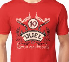 Ten Duel Commandments Unisex T-Shirt