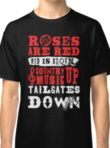 Country Music Tees Classic T-Shirt