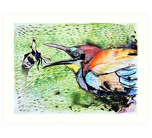 Rainbow Bee-eater Art Print