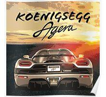 Koenigsegg Agera Poster