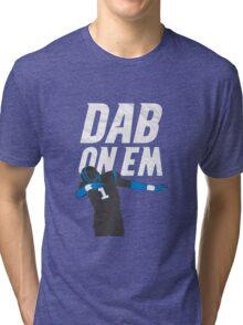 Cam Newton 'Dab On Em' Carolina Panthers Tri-blend T-Shirt