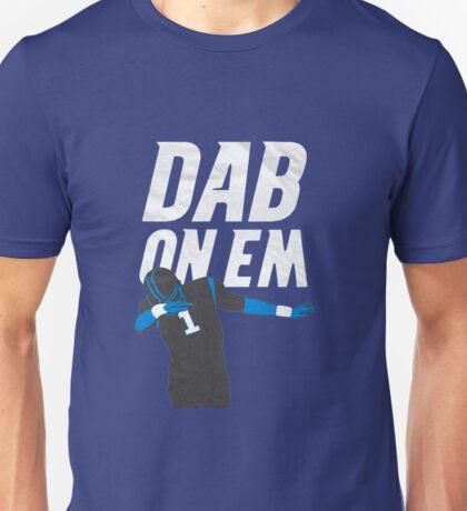 Cam Newton 'Dab On Em' Carolina Panthers Unisex T-Shirt