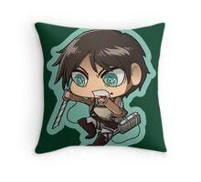 Shingeki no Kyojin - Eren Jaeger Throw Pillow