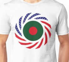 Bangladeshi American Multinational Patriot Flag Unisex T-Shirt