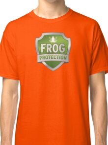Frog Protection? Fraud Protection!  Classic T-Shirt