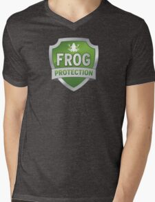 Frog Protection? Fraud Protection!  Mens V-Neck T-Shirt