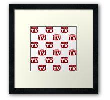 As Seen on TV Framed Print