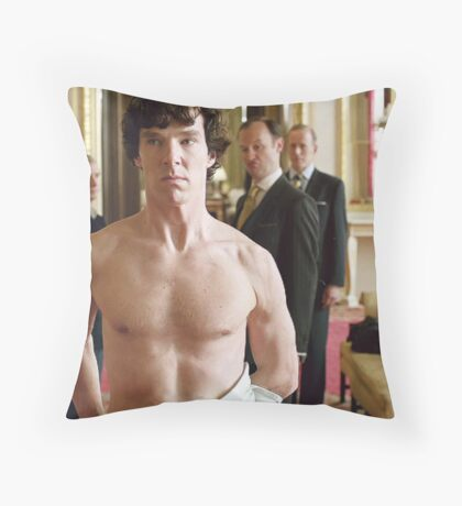 sherlocks sheet Throw Pillow