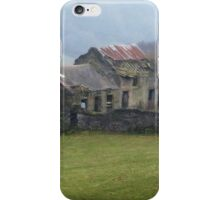 Dilapidated Cottage, Hope Valley, Eyam iPhone Case/Skin