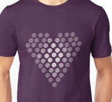 Ghostly Heart Unisex T-Shirt