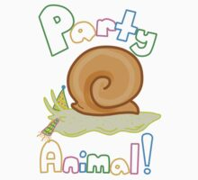 Party Animal One Piece - Short Sleeve