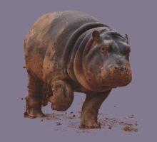 Baby Hippo on the Run: Tee Kids Tee