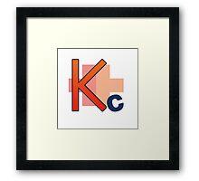 Kakucorp logo of the mighty Kakujo Framed Print