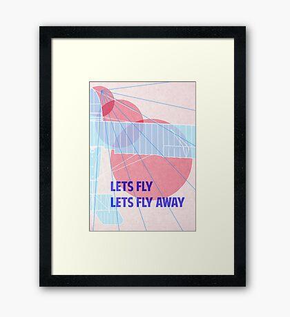 Lets Fly! Framed Print