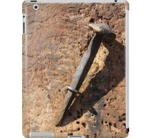 old nail iPad Case/Skin