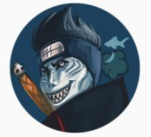 Akatsuki Stickers: Kisame by luseymoth